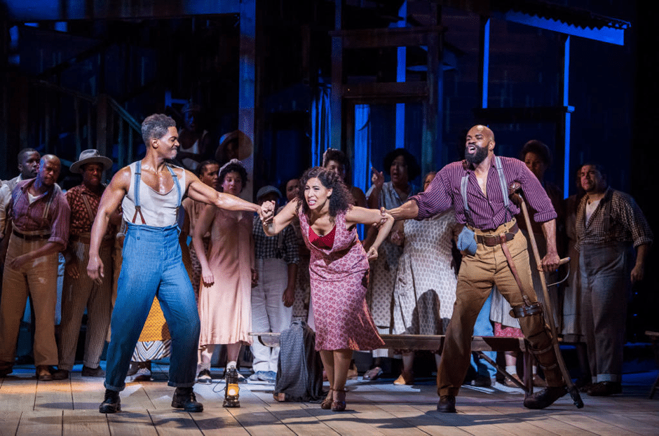 Still image from Porgy and Bess at the ENO by Tristram Kenton