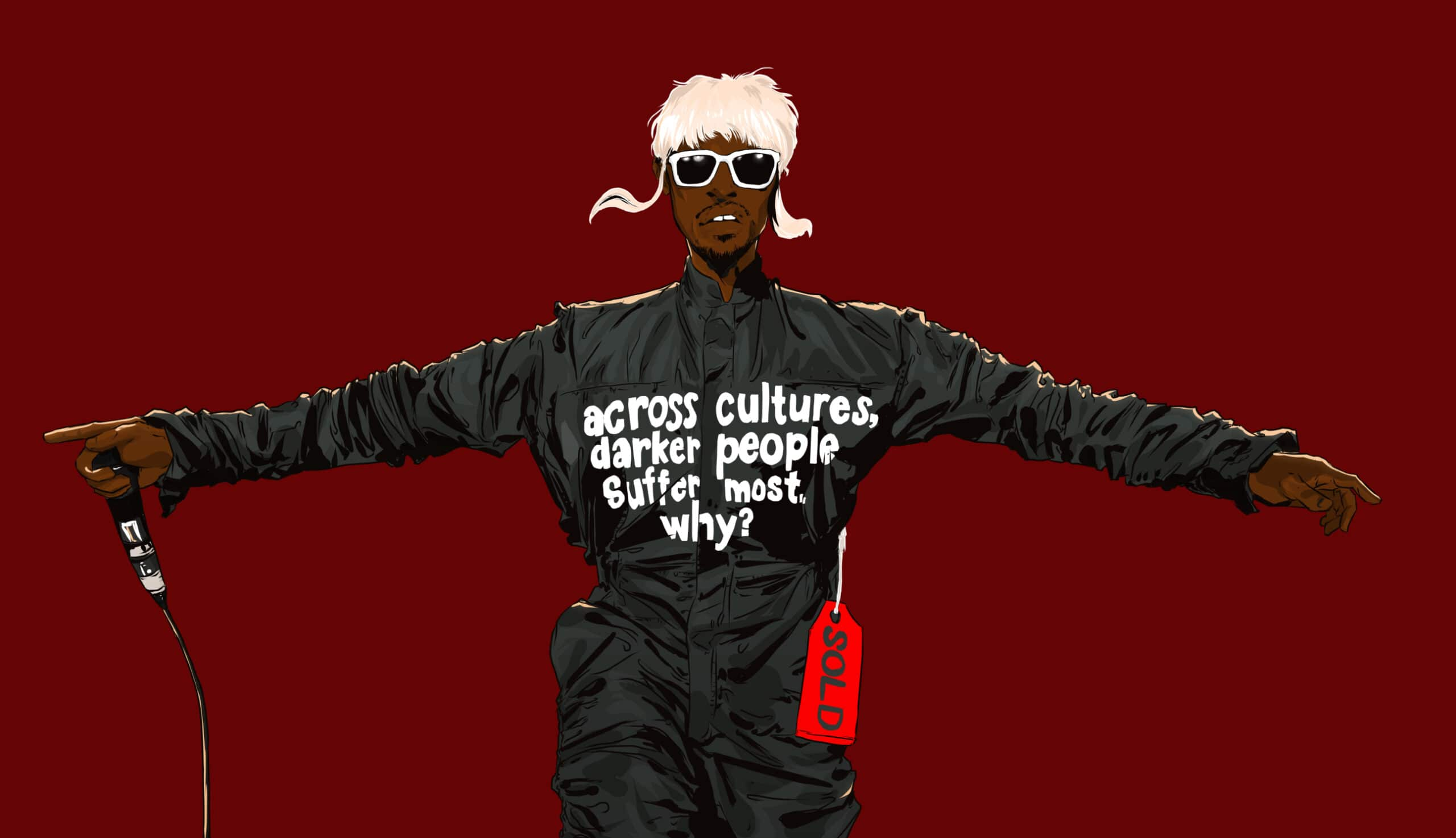 Andre 3000 by Nick Ogri