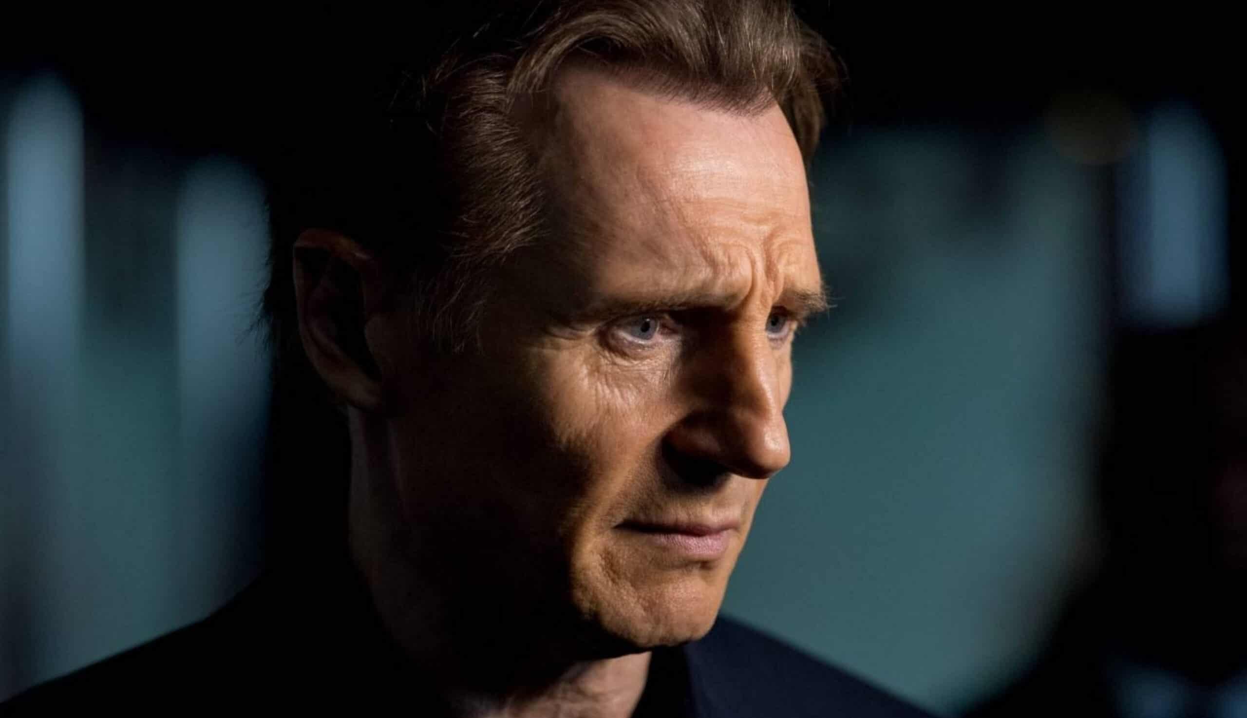 Liam Neeson by Roy Rochlin
