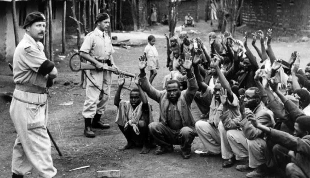 British Troops in Kenya 1954