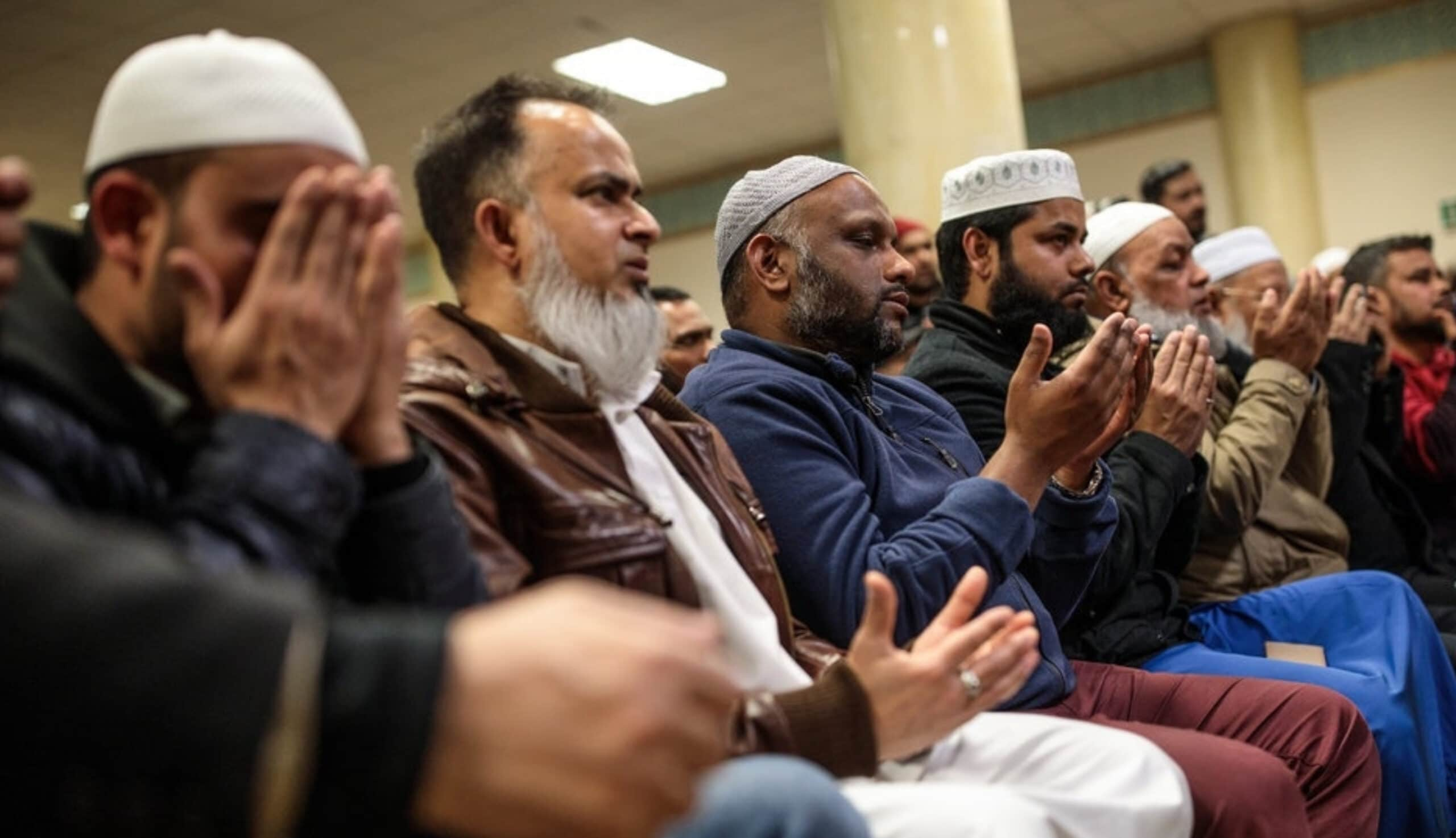 East London Muslims at prayer - Jack Taylor