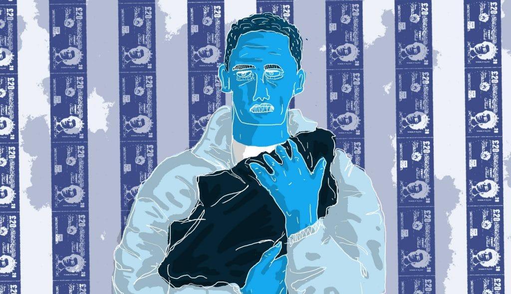 Loyle Carner illustration by Dom Culverwell