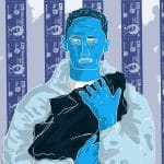 Loyle Carner illustration by Dom Culverwell
