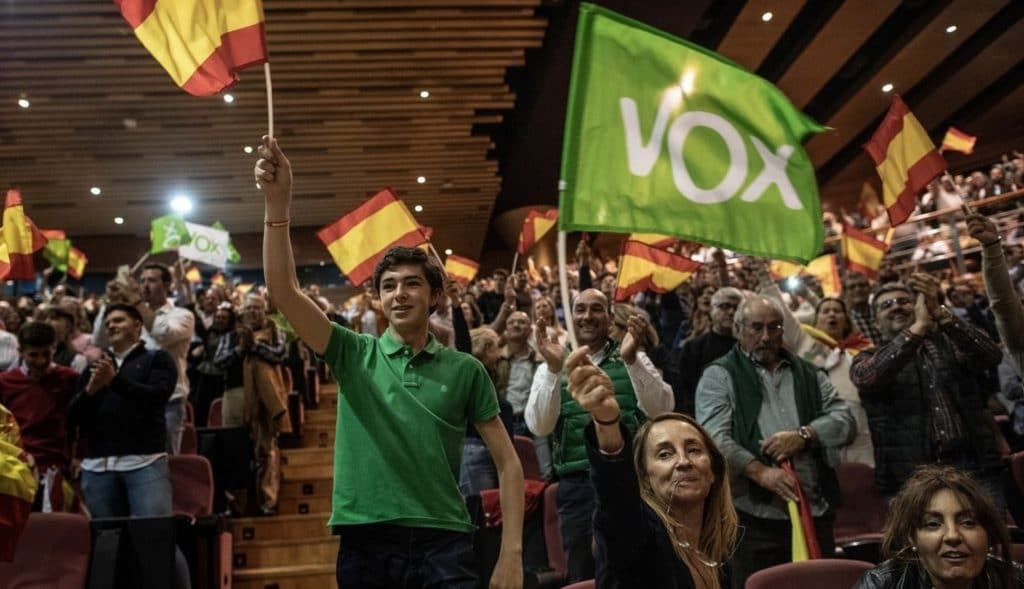 Spanish elections - vox party
