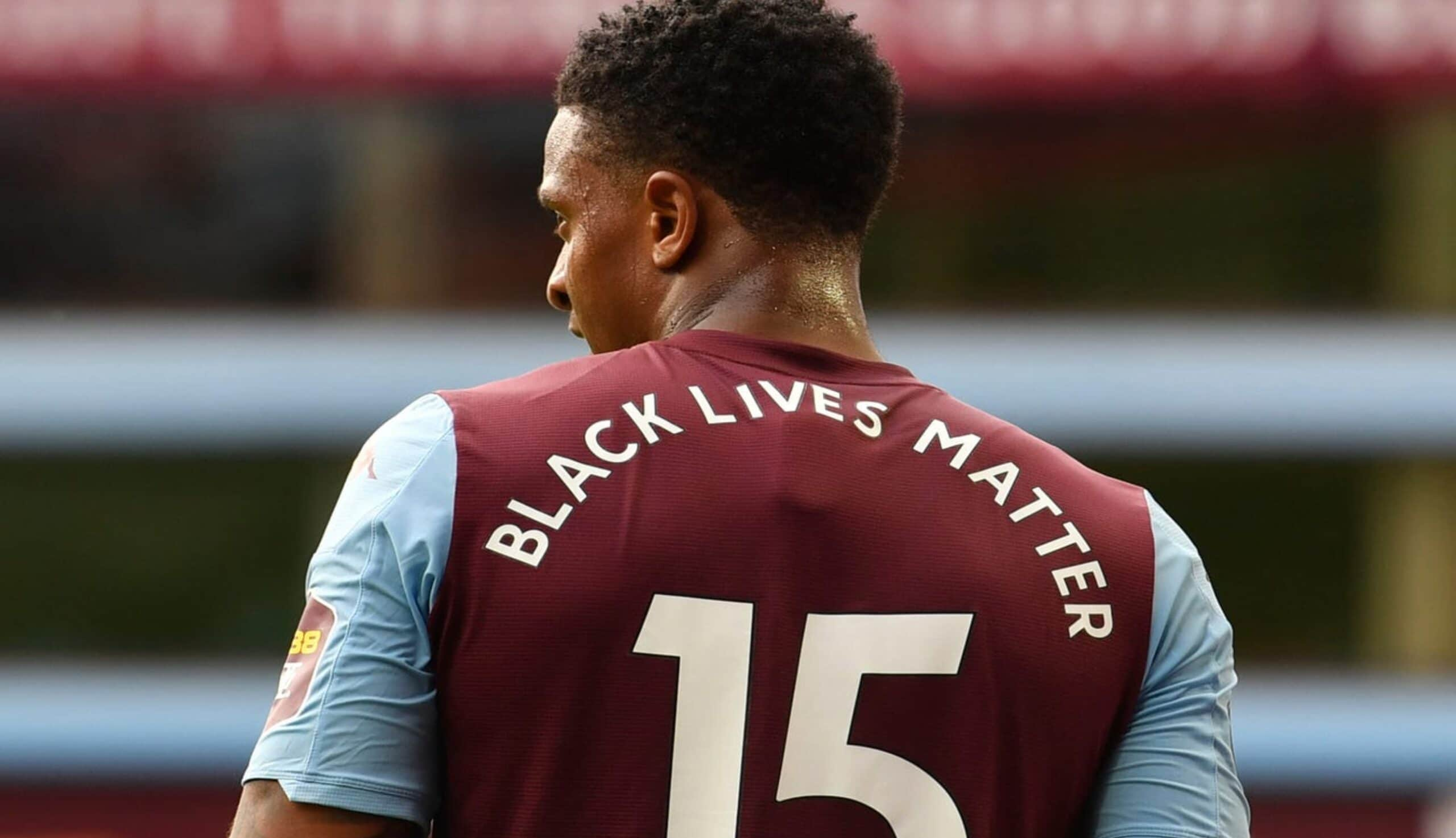 racism in football - black lives matter